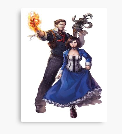 Bioshock realistic and cool design Canvas Print