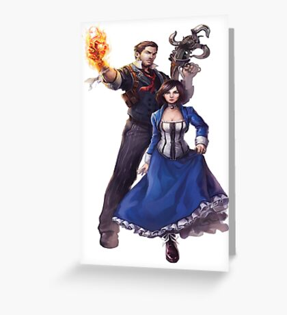 Bioshock realistic and cool design Greeting Card