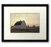 Tama Farm Framed Print