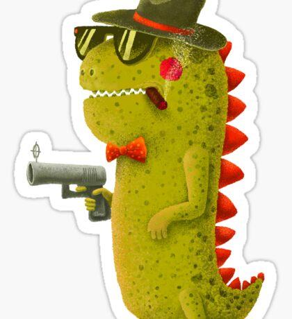 Dino bandito Sticker