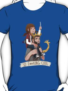 So f**king cool ellie and joel T-Shirt