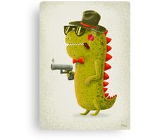 Dino bandito Canvas Print