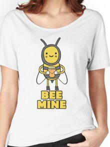 Cute BEE MINE Valentines Day T Shirt Women's Relaxed Fit T-Shirt