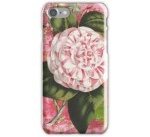 Vintage Camellia Collage iPhone Case/Skin