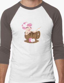Sweet <3's - Miss Cocoa Men's Baseball ¾ T-Shirt