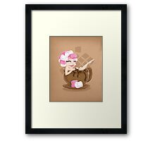 Sweet <3's - Miss Cocoa Framed Print