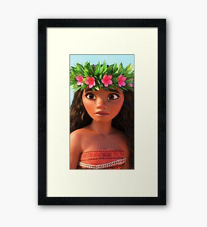 Moana (Disney) Framed Print