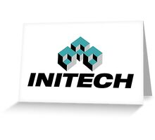 Initech Logo Greeting Card