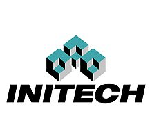 Initech Logo Photographic Print