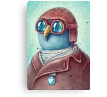 Pilot Captain Ivan Twittor Canvas Print