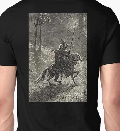 Don Quixote, Don Quijote, Gustave Doré, one of the 500 created for the work Unisex T-Shirt