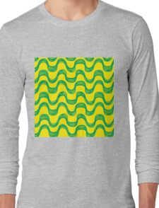 Ipanema beach pattern set Long Sleeve T-Shirt