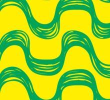 Ipanema beach pattern set Sticker