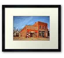 Chelsa Stores Framed Print