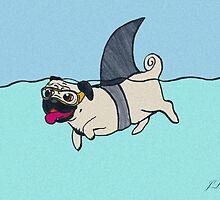 Shark Pug by J. L. Gould