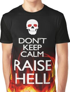 RAISE HELL Graphic T-Shirt
