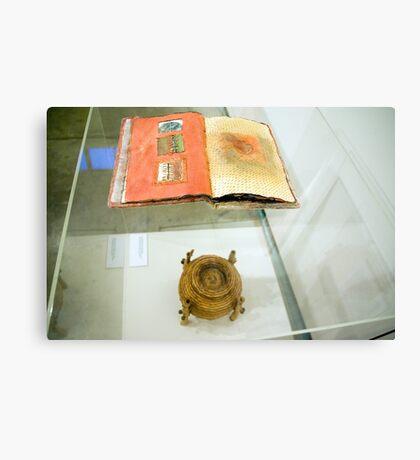 Book of Threads & Belly Bound (Exhibit Display) Canvas Print
