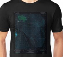 USGS TOPO Map California CA Bristol Lake NW 100395 1954 24000 geo Inverted Unisex T-Shirt