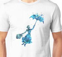 The Magical Nanny - blues Unisex T-Shirt
