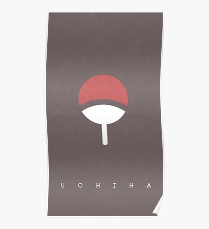 Uchiha logo - Naruto Poster