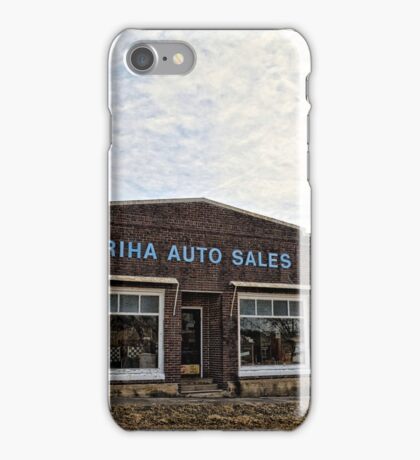 Riha Auto Sales iPhone Case/Skin
