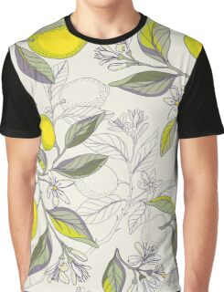Lemon pattern Graphic T-Shirt