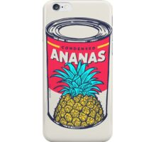 Condensed ananas iPhone Case/Skin