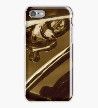 Pouncing Cat - Jaguar Mark 1 Hood Mascot iPhone Case/Skin