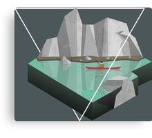 Geometric exploration Canvas Print