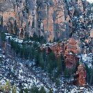 Snowy Sedona by BGSPhoto