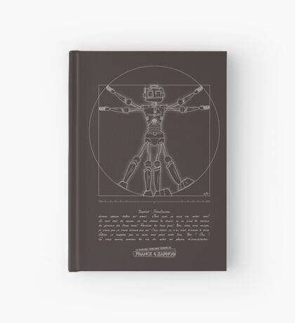 Les Aventures Terriblement Ordinaires de Franck & Zaphod Hardcover Journal