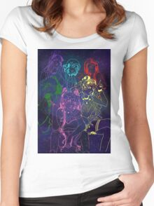 Future Senshi Space Babes!! Women's Fitted Scoop T-Shirt