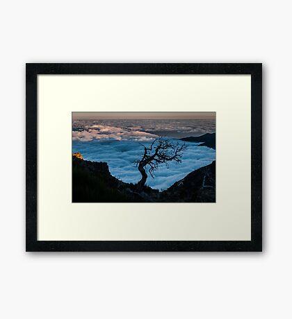 Pico Ruivo, Madeira, Portugal Framed Print