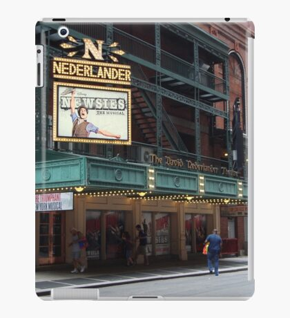 Newsies at the Nederlander theatre iPad Case/Skin