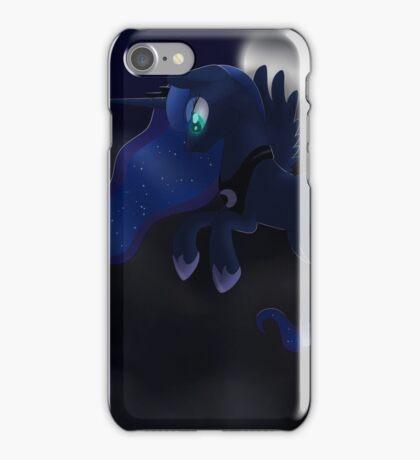 My little Pony: Friendship is Magic - Princess Luna - Night Flight iPhone Case/Skin