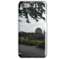 Quebec City Morning iPhone Case/Skin