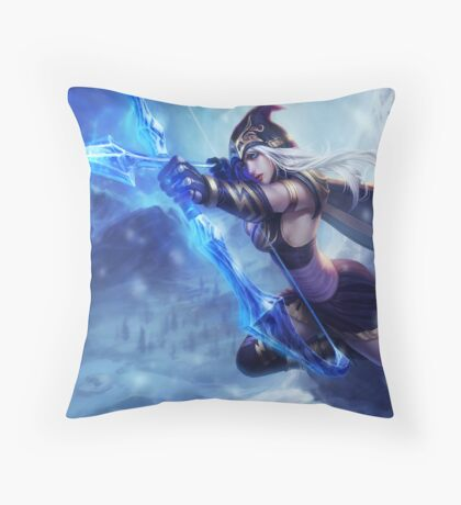 Ashe League of Legends Throw Pillow