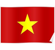 Flag of Vietnam Poster