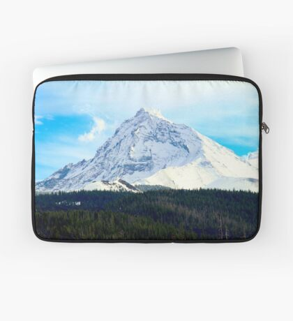 Snow covered hills Laptop Sleeve