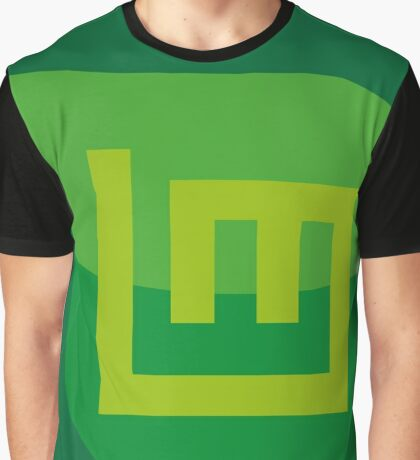 Linux Mint Logo Graphic T-Shirt
