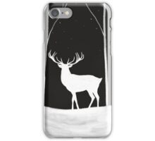Winter Stag iPhone Case/Skin