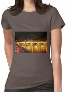 Paris - Pont Neuf Womens Fitted T-Shirt