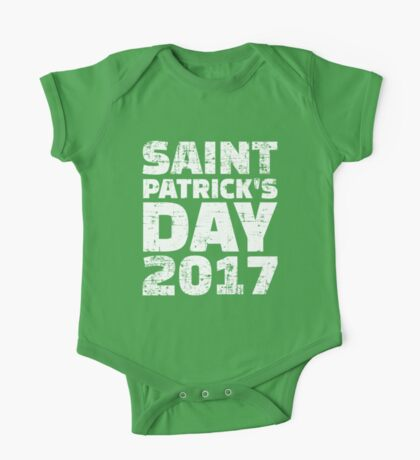 St. Patricks day 2017 One Piece - Short Sleeve