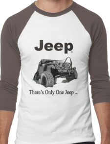 There's only one Jeep Men's Baseball ¾ T-Shirt