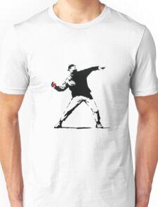 Banksy Pokeball Throw Unisex T-Shirt