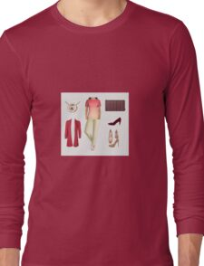 19. Outfit (Office Casual Set) Long Sleeve T-Shirt