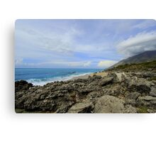 Calm Seacoast - Travel Photography Canvas Print