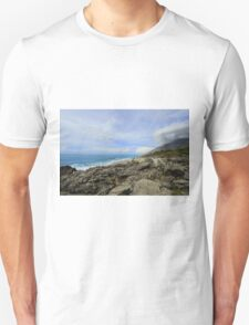 Calm Seacoast - Travel Photography T-Shirt