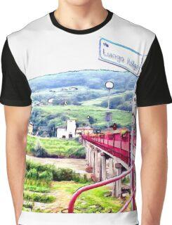 Landscape with bridge Graphic T-Shirt