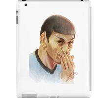 Spock oops! iPad Case/Skin